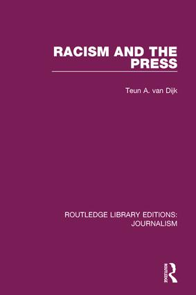 Racism and the Press book cover