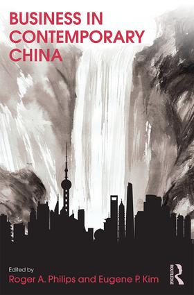 Business in Contemporary China (Paperback) book cover