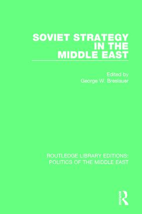 Soviet Strategy in the Middle East: 1st Edition (Paperback) book cover