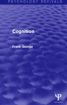 Cognition: 1st Edition (Paperback) book cover