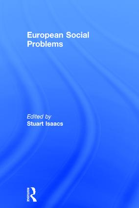 European Social Problems book cover