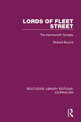 Lords of Fleet Street: The Harmsworth Dynasty book cover