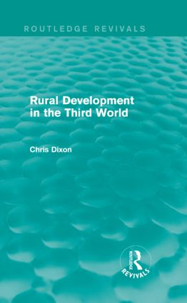 Rural Development in the Third World: 1st Edition (Hardback) book cover