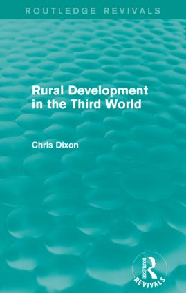 Rural Development in the Third World (Routledge Revivals): 1st Edition (Paperback) book cover