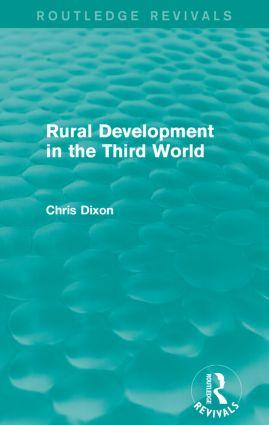 Rural Development in the Third World
