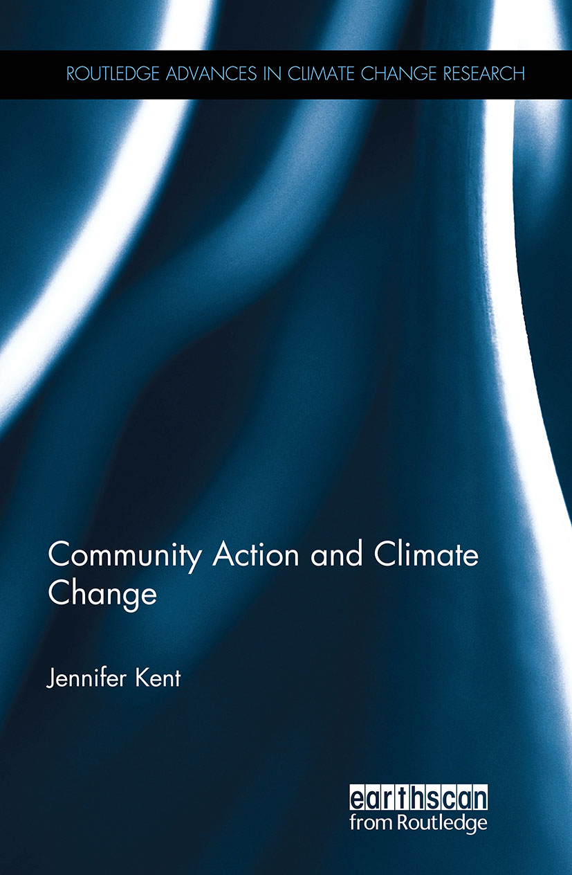 Community Action and Climate Change (Hardback) book cover