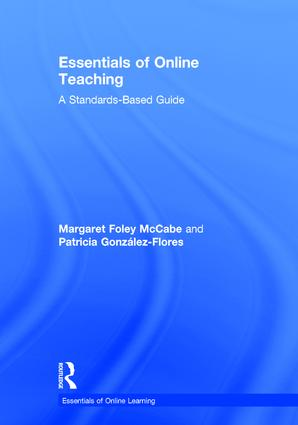 Essentials of Online Teaching: A Standards-Based Guide, 1st Edition (Hardback) book cover