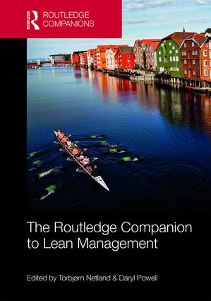 The Routledge Companion to Lean Management (Hardback) book cover