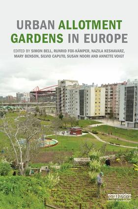 Urban Allotment Gardens in Europe book cover