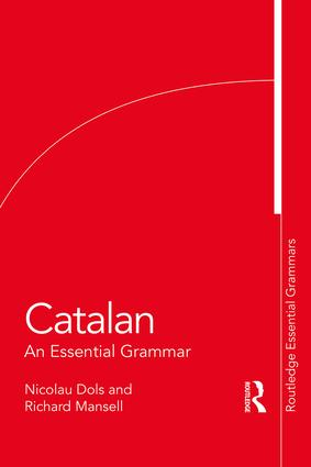 Catalan: An Essential Grammar book cover