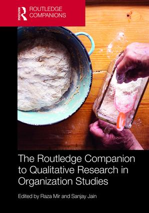 The Routledge Companion to Qualitative Research in Organization Studies (Hardback) book cover