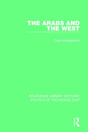 The Arabs and the West book cover