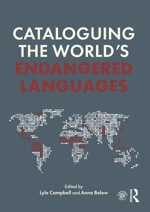 Cataloguing the World's Endangered Languages book cover