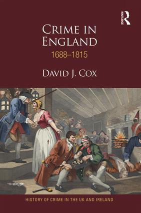 Crime in England 1688-1815 book cover