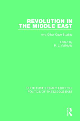 Revolution in the Middle East: And Other Case Studies book cover
