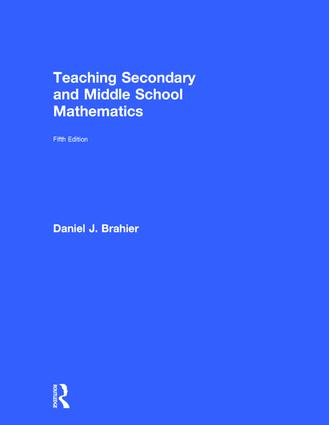 Teaching Secondary and Middle School Mathematics: 5th Edition (Hardback) book cover