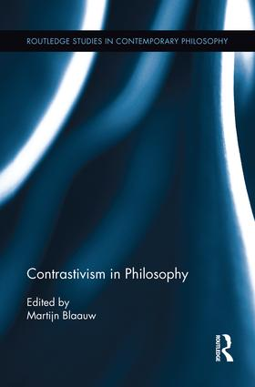 Contrastivism in Philosophy book cover