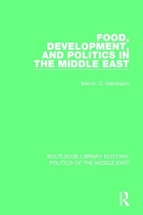 Food, Development, and Politics in the Middle East book cover