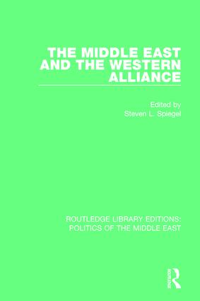 The Middle East and the Western Alliance: 1st Edition (Paperback) book cover