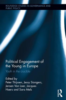 Political Engagement of the Young in Europe: Youth in the crucible book cover