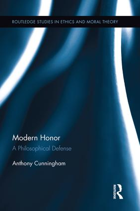 Modern Honor: A Philosophical Defense (Paperback) book cover
