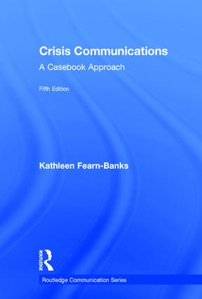 Crisis Communications: A Casebook Approach book cover
