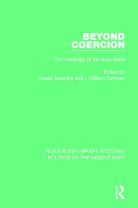 Beyond Coercion: The Durability of the Arab State book cover