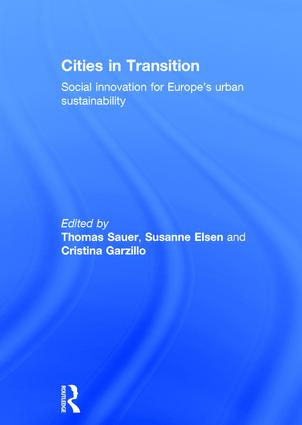 Cities in Transition: Social Innovation for Europe's Urban Sustainability book cover
