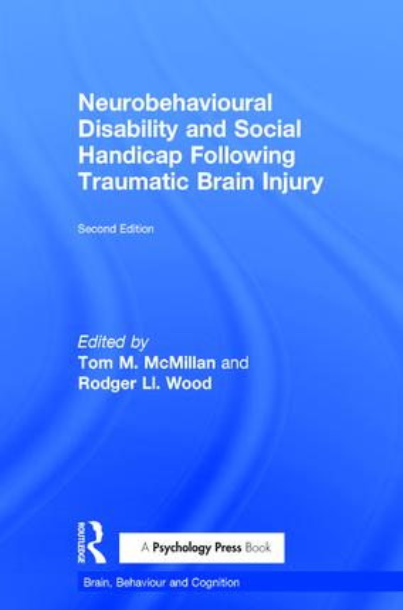 Neurobehavioural Disability and Social Handicap Following Traumatic Brain Injury book cover