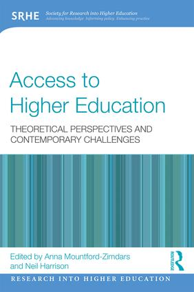 Access to Higher Education: Theoretical perspectives and contemporary challenges (Paperback) book cover