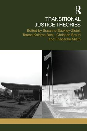 Transitional Justice Theories book cover