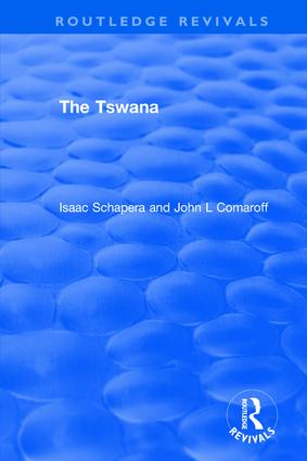 The Tswana: 1st Edition (Paperback) book cover