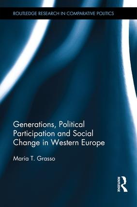 Generations, Political Participation and Social Change in Western Europe: 1st Edition (Hardback) book cover