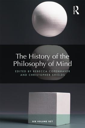 The History of the Philosophy of Mind: Six volume set book cover