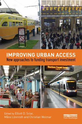 Improving Urban Access: New Approaches to Funding Transport Investment (Paperback) book cover