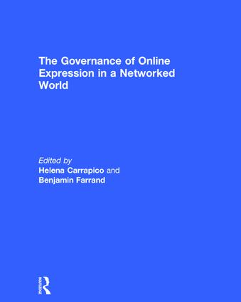 The Governance of Online Expression in a Networked World book cover