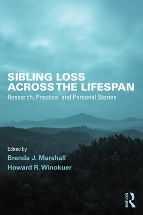 Sibling Loss Across the Lifespan: Research, Practice, and Personal Stories (Paperback) book cover