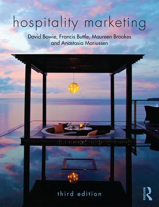 Hospitality Marketing: 3rd Edition (Paperback) book cover