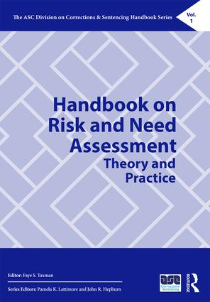 Handbook on Risk and Need Assessment: Theory and Practice (Hardback) book cover