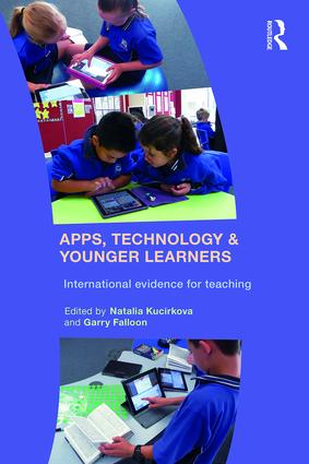 Apps, Technology and Younger Learners: International evidence for teaching (Paperback) book cover