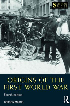 Origins of the First World War: 4th Edition (Paperback) book cover
