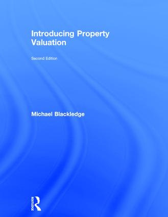 Introducing Property Valuation: 2nd Edition (Hardback) book cover