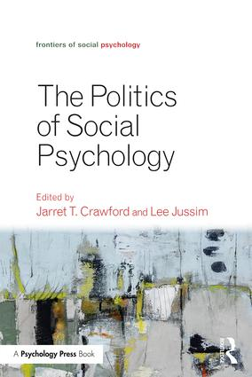 Politics of Social Psychology: 1st Edition (Paperback) book cover