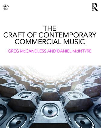The Craft of Contemporary Commercial Music (Paperback) book cover