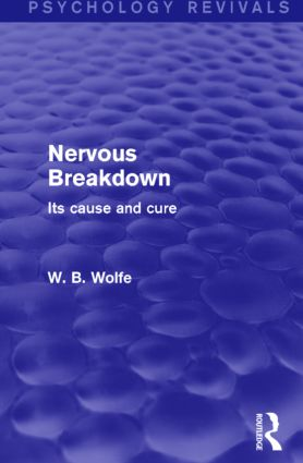 Nervous Breakdown (Psychology Revivals)