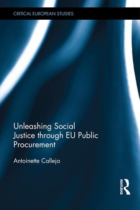 Unleashing Social Justice through EU Public Procurement book cover