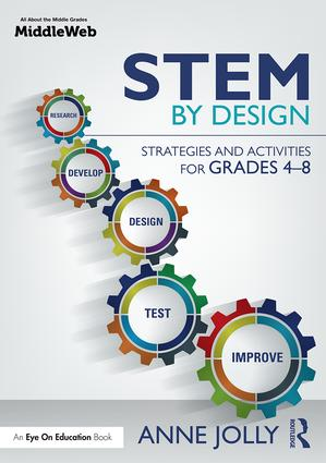 STEM by Design: Strategies and Activities for Grades 4-8 book cover