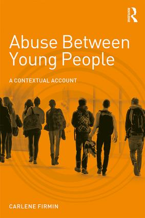 Abuse Between Young People: A Contextual Account book cover