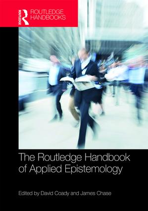 The Routledge Handbook of Applied Epistemology book cover