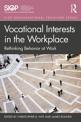 Vocational Interests in the Workplace: Rethinking Behavior at Work, 1st Edition (Paperback) book cover